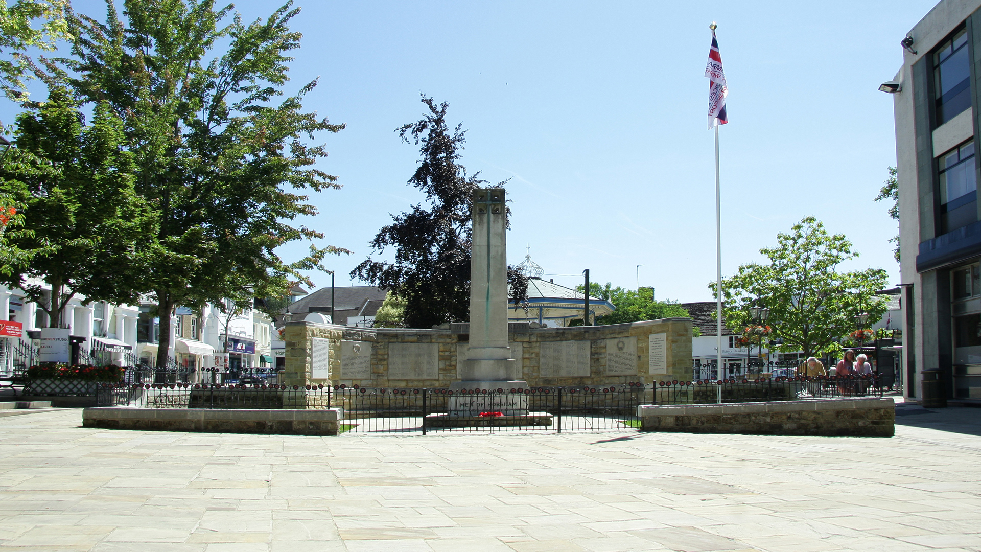 War Memorial, Carfax, Horsham