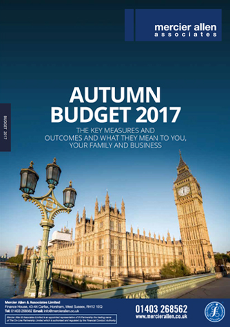 Mercier Allen - Autumn Budget 2017